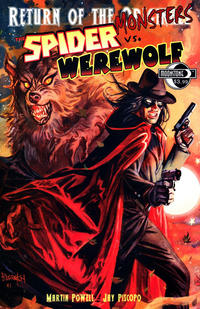 Cover Thumbnail for Return of the Monsters: The Spider vs. Werewolf (Moonstone, 2011 series)