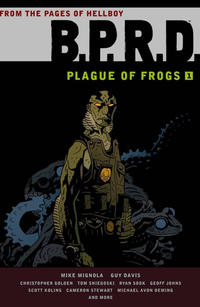 Cover Thumbnail for B.P.R.D.: Plague of Frogs (Dark Horse, 2011 series) #1