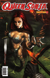 Cover Thumbnail for Queen Sonja (Dynamite Entertainment, 2009 series) #24 [Lucio Parrillo Cover]
