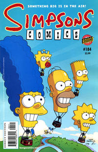 Cover Thumbnail for Simpsons Comics (Bongo, 1993 series) #184