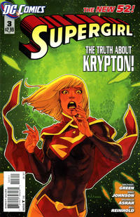 Cover Thumbnail for Supergirl (DC, 2011 series) #3 [Direct Sales]