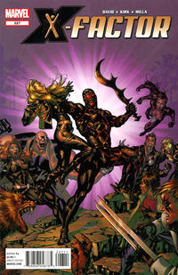 Cover for X-Factor (Marvel, 2006 series) #227
