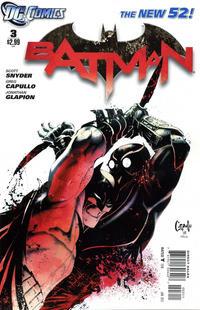 Cover Thumbnail for Batman (DC, 2011 series) #3