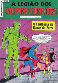 Cover Thumbnail for Lançamento (2ª Série) [A Legião dos Super-Heróis] (Editora Brasil-América [EBAL], 1968 series) #10