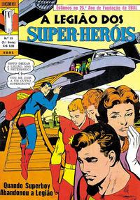 Cover Thumbnail for Lançamento (2ª Série) [A Legião dos Super-Heróis] (Editora Brasil-América [EBAL], 1968 series) #21