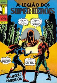 Cover Thumbnail for Lançamento (2ª Série) [A Legião dos Super-Heróis] (Editora Brasil-América [EBAL], 1968 series) #26