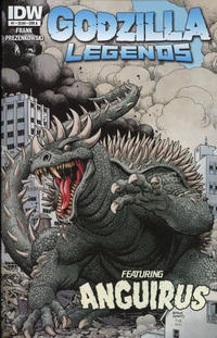 Cover for Godzilla Legends (IDW, 2011 series) #1 [Cover A]