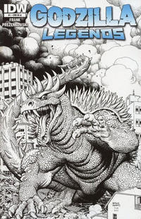 Cover Thumbnail for Godzilla Legends (IDW, 2011 series) #1 [Retailer Incentive A]