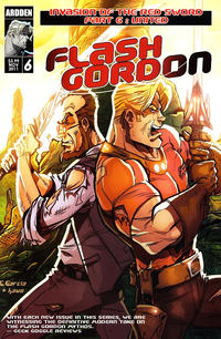 Cover Thumbnail for Flash Gordon: Invasion of the Red Sword (Ardden Entertainment, 2011 series) #6