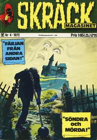 Cover Thumbnail for Skräckmagasinet (Williams Förlags AB, 1972 series) #4/1972