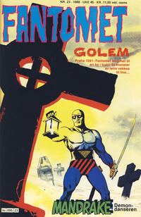 Cover Thumbnail for Fantomet (Semic, 1976 series) #23/1988