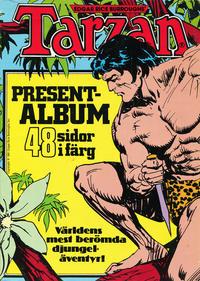 Cover Thumbnail for Tarzan presentalbum (Atlantic Förlags AB, 1978 series) #[1981]