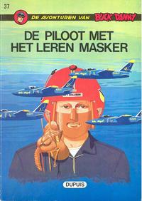 Cover Thumbnail for Buck Danny (Dupuis, 1949 series) #37 - De piloot met het leren masker [Eerste druk (1971)]