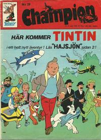 Cover Thumbnail for Champion (Hemmets Journal, 1973 series) #29/1973