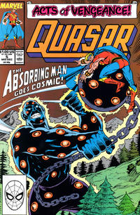 Cover Thumbnail for Quasar (Marvel, 1989 series) #5 [Direct]