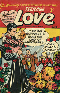 Cover Thumbnail for Teenage Love (Magazine Management, 1952 ? series) #24