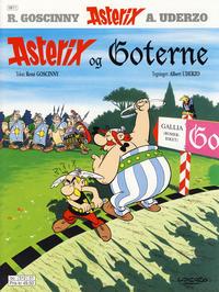 Cover Thumbnail for Asterix (Hjemmet / Egmont, 1969 series) #9 - Asterix og goterne [10. opplag]