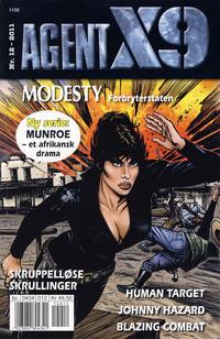 Cover Thumbnail for Agent X9 (Hjemmet / Egmont, 1998 series) #12/2011