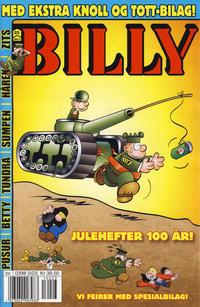 Cover Thumbnail for Billy (Hjemmet / Egmont, 1998 series) #23/2011