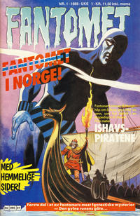 Cover Thumbnail for Fantomet (Semic, 1976 series) #1/1989