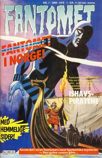 Cover Thumbnail for Fantomet (Semic, 1976 series) #1/1989