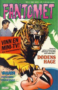 Cover Thumbnail for Fantomet (Semic, 1976 series) #2/1989