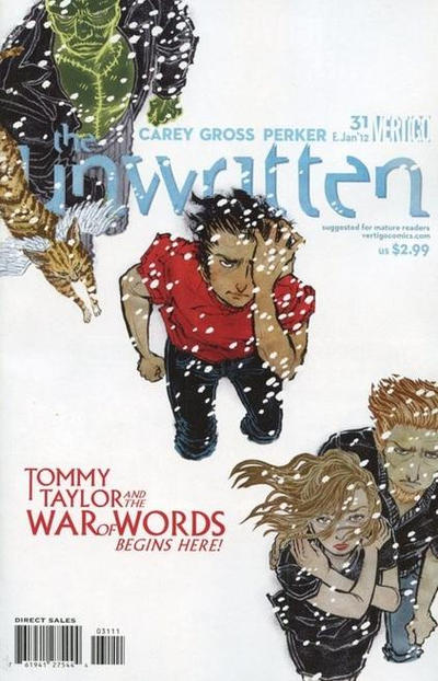 Cover for The Unwritten (DC, 2009 series) #31