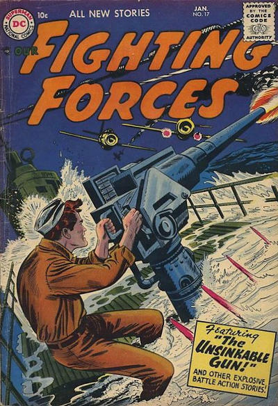 Cover for Our Fighting Forces (DC, 1954 series) #17