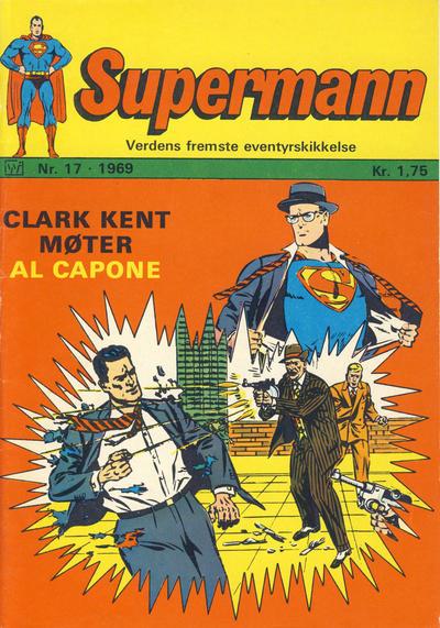 Cover for Supermann (Illustrerte Klassikere / Williams Forlag, 1969 series) #17/1969