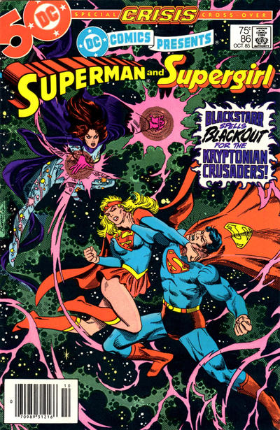 Cover for DC Comics Presents (DC, 1978 series) #86 [Direct]