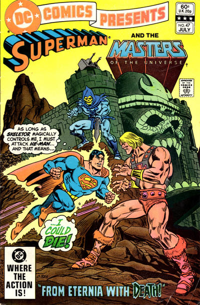 Cover for DC Comics Presents (DC, 1978 series) #47 [Direct Sales Variant]