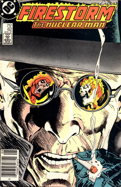 Cover for The Fury of Firestorm (DC, 1982 series) #62 [Direct Sales]