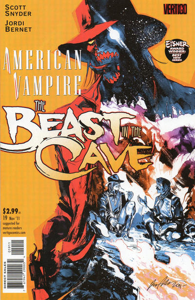 Cover for American Vampire (DC, 2010 series) #19