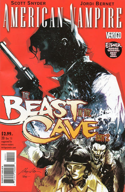 Cover for American Vampire (DC, 2010 series) #20