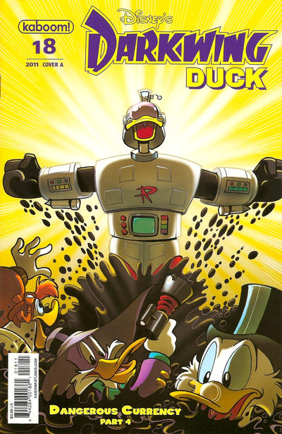 Cover for Darkwing Duck (Boom! Studios, 2010 series) #18