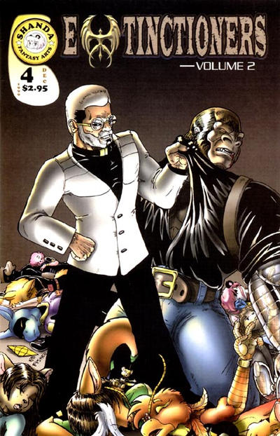 Cover for Extinctioners (Shanda Fantasy Arts, 1999 series) #4