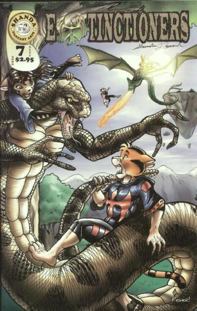 Cover for Extinctioners (Shanda Fantasy Arts, 1999 series) #7