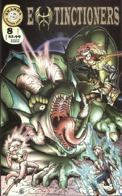 Cover for Extinctioners (Shanda Fantasy Arts, 1999 series) #8