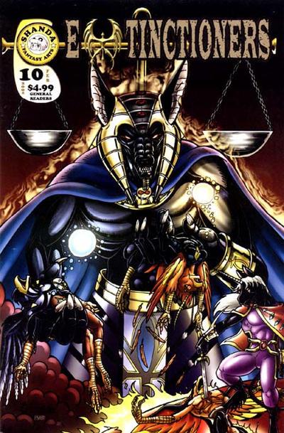 Cover for Extinctioners (Shanda Fantasy Arts, 1999 series) #10