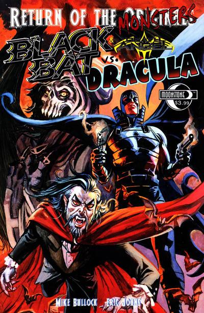 Cover for Return of the Monsters: Black Bat vs. Dracula (Moonstone, 2011 series)
