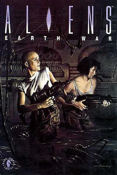 Cover for Aliens: Earth War (Dark Horse, 1991 series)