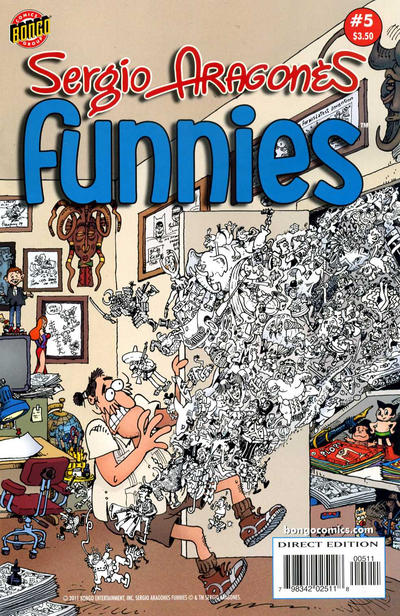 Cover for Sergio Aragonés Funnies (Bongo, 2011 series) #5