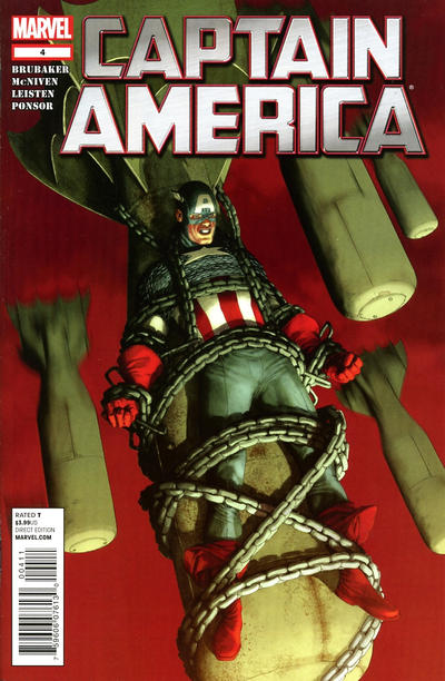 Cover for Captain America (Marvel, 2011 series) #4 [FF 50th Anniversary Variant]