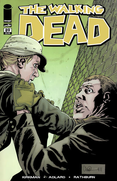 Cover for The Walking Dead (Image, 2003 series) #89