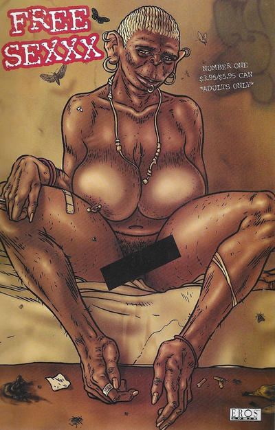 Cover for Free Sexxx (Fantagraphics, 2006 series) #1