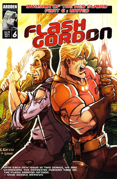 Cover for Flash Gordon: Invasion of the Red Sword (Ardden Entertainment, 2011 series) #6