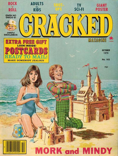 Cover for Cracked (Major Publications, 1958 series) #163