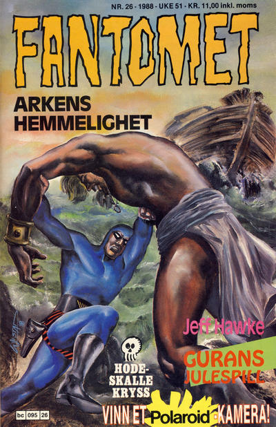 Cover for Fantomet (Semic, 1976 series) #26/1988