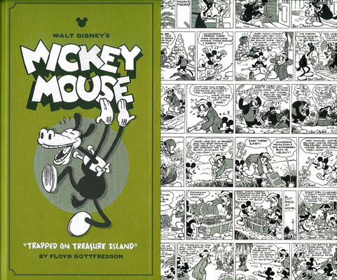 Cover for Walt Disney's Mickey Mouse (Fantagraphics, 2011 series) #2 - Trapped on Treasure Island