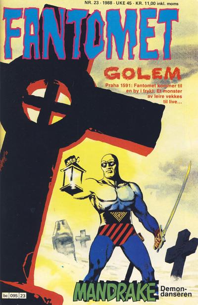 Cover for Fantomet (Semic, 1976 series) #23/1988